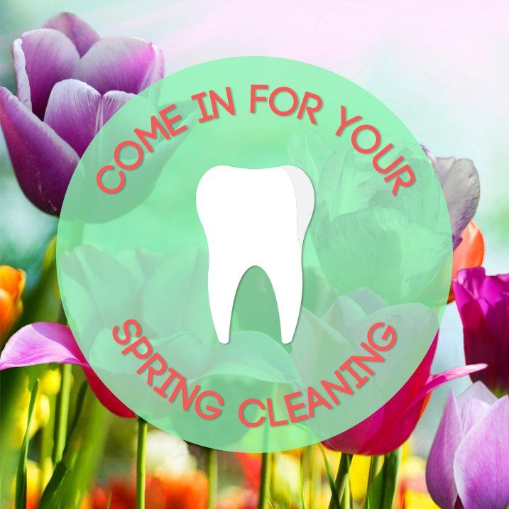 Spring Cleaning: Don't forget about your teeth!